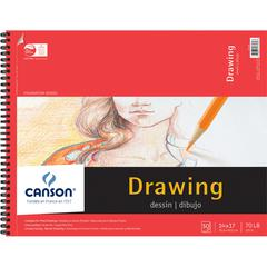 """Canson Foundation Series 14"""" x 17"""" Foundation Drawing Pad"""