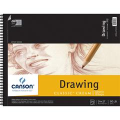 "Canson Classic Artist Series 14"" x 17"" Drawing Sheet Pad"