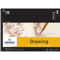 "Canson Classic Artist Series 18"" x 24"" Drawing Sheet Pad"