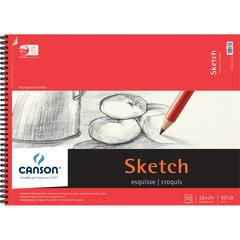 """Canson Foundation Series 18"""" x 24"""" Foundation Sketch Sheet Pad"""