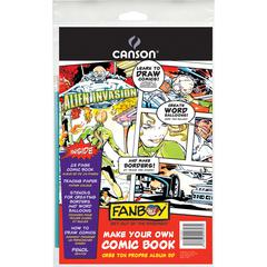 "Canson FanBoy 6.625"" x 10.25"" Make Your Own Comic Book Pack"