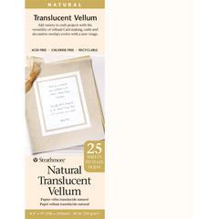 """Strathmore 8.5"""" x 11"""" Natural Translucent Vellum"""