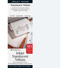 "8.5"" x 11"" Inkjet Printable Translucent Vellum 50-Pack"