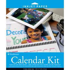 "8.5"" x 11"" Inkjet Photo Calendar Kit"