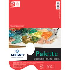 "Canson Foundation Series 9"" x 12"" Disposable Palette Sheet Pad"