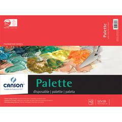 "Canson Foundation Series 12"" x 16"" Disposable Palette Sheet Pad"
