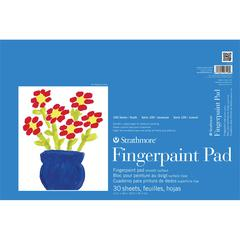 "Strathmore 100 Series 12"" x 18"" Tape Bound Fingerpaint Pad"
