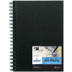 All Media Wirebound Book