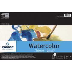 "Canson Montval Artist Series 10"" x 15"" Watercolor Cold Press Sheet Pad"