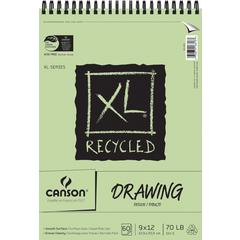 "Canson XL 9"" x 12"" Recycled Drawing Sheet Pad"