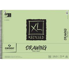 "Canson XL 18"" x 24"" Recycled Drawing Sheet Pad"