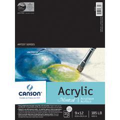 "Canson Montval 9"" x 12"" Acrylic Sheet Pad"