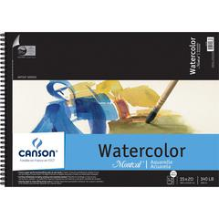 "Canson Montval Artist Series 15"" x 20"" Watercolor Pad"