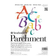 """Strathmore 200 Series 8.5"""" x 11"""" Tape Bound Parchment Pad"""