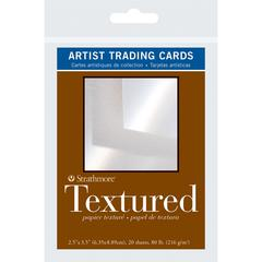 "2.5"" x 3.5"" Textured Surface Artist Trading Cards"