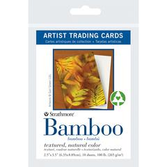 "2.5"" x 3.5"" Bamboo Artist Trading Cards"