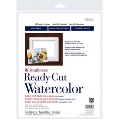 "11"" x 14"" Cold Press Ready Cut Watercolor Sheet Pack"