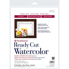"11"" x 14"" Hot Press Ready Cut Watercolor Sheet Pack"