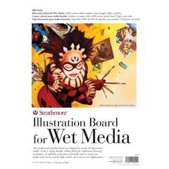 "15"" x 22"" Heavy Weight Illustration Board for Wet Media"