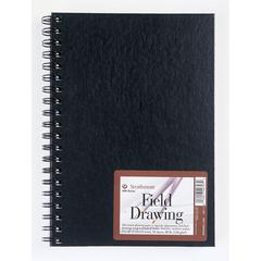 "Strathmore 400 Series 7"" x 10"" Cream Wire Bound Field Drawing Book"
