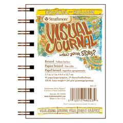 """3.5"""" x 5"""" Vellum Wire Bound Bristol Book"""