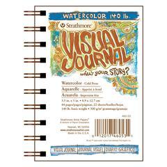 """Visual Journal Watercolor Book 3.5"""" x 5"""""""