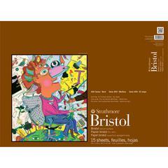 "18"" x 24"" 2-Ply Vellum Tape Bound Bristol Pad"
