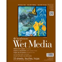 9 x 12 Wire Bound Wet Media Pad