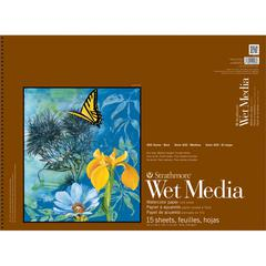 Strathmore 400 Series 18 x 24 Wire Bound Wet Media Pad