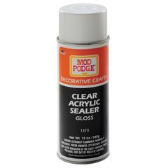 Mod Podge Clear Acrylic Sealer Spray Gloss