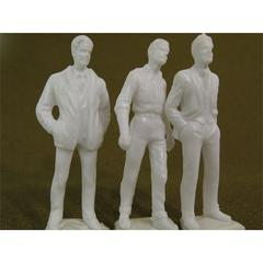 "Architectural Model Human Figures - 1/2"" Male 3-Pack"