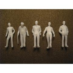 "Wee Scapes Architectural Model Human Figures Male 1/4"" 5-Pack"