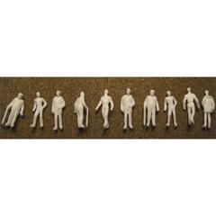 "Architectural Model Human Figures Male 1/8"" 10-Pack"