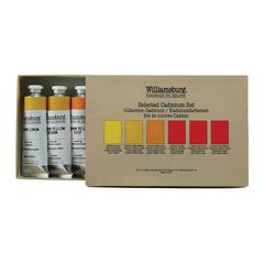 Williamsburg Cadmiums Oil Paint Set