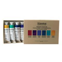 Williamsburg Cobalts Oil Paint Set