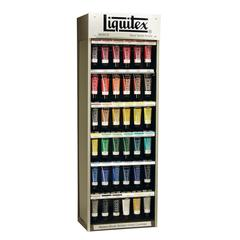 Acrylic Paint Display Assortment Rack Only