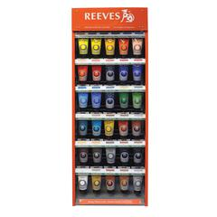 Reeves 200ml Acrylic Paint Color Display Assortment