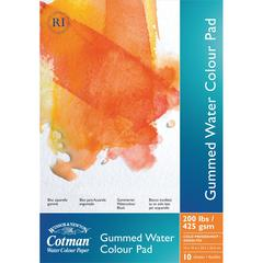 "Winsor & Newton Cotman 10"" x 14"" Watercolor Cold Press Paper Gummed Pad"