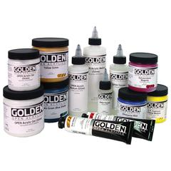 Acrylic Paint 2oz. Iridescent Gold (Fine)
