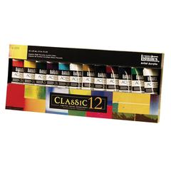Liquitex Professional Series Heavy Body 12-Color Classic Set