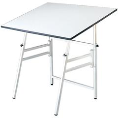 Professional Table Small White Base Only