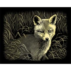 Reeves Gold Foil Fox Cub