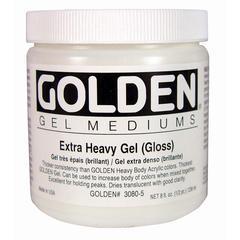 Golden Extra Heavy Gel Medium Gloss 8 oz.
