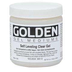 Self Leveling Clear Gel Medium 8 oz.