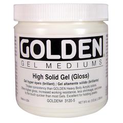 Golden High Solid Gel Gloss 8 oz.