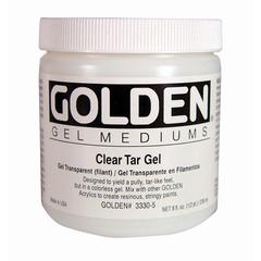 Golden Clear Tar Gel Medium 8 oz.
