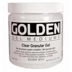 Golden Clear Granular Gel Medium 8 oz.