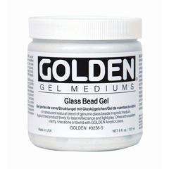Golden Glass Bead Gel Medium 8 oz.