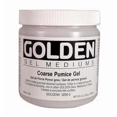 Golden Pumice Gel Medium Coarse 8 oz.