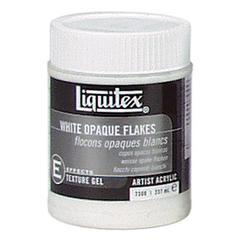 White Opaque Flakes 8oz
